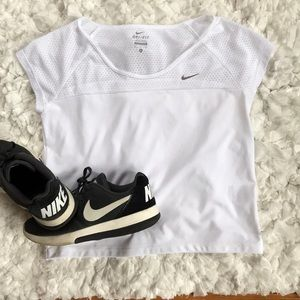 Nike Mesh Crop Top
